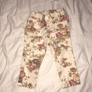 Other - Floral 12 month girl pants